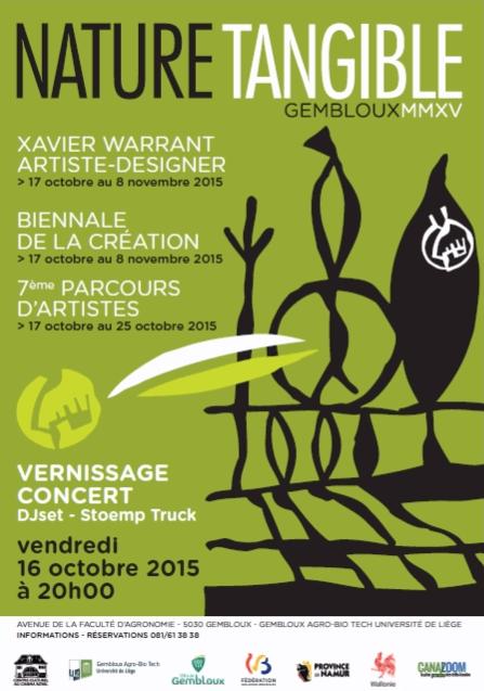 Parcours d'artistes de Gembloux du 17 au 25 octobre 2015